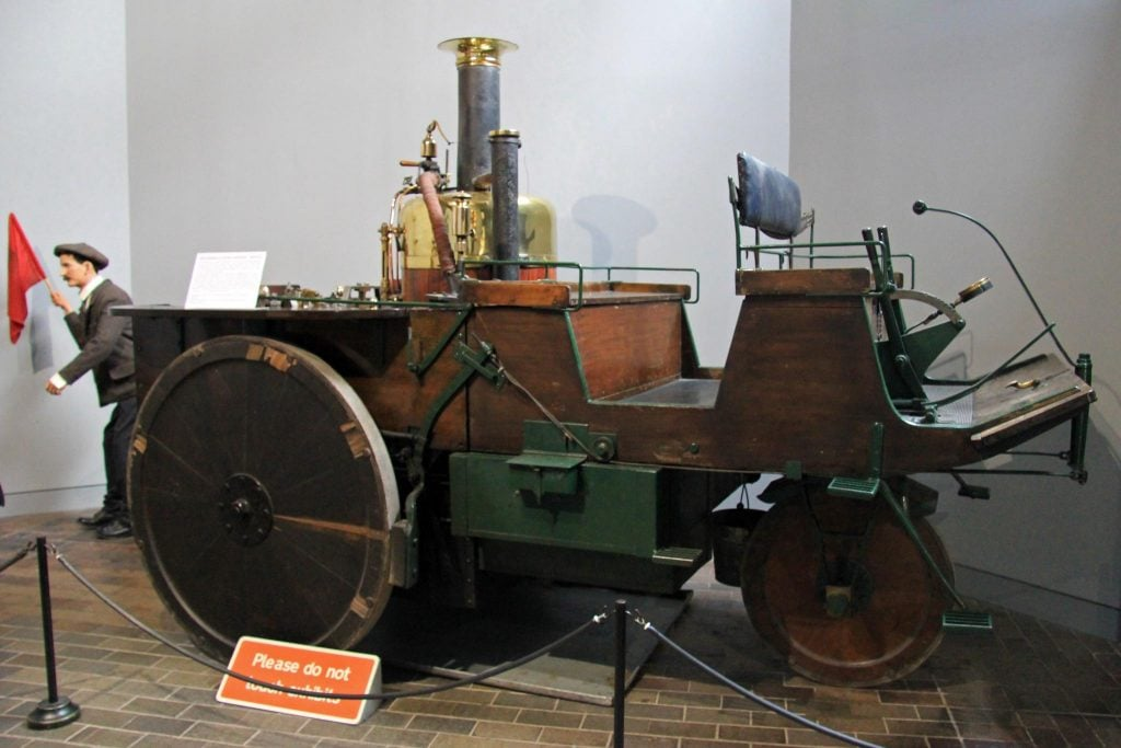 Grenville-Steam- najstariji-auto